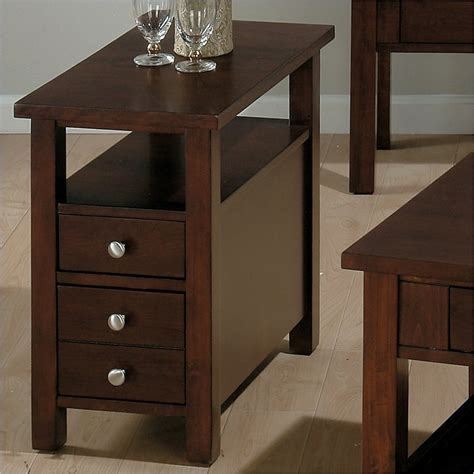 wood chair side table jofran 251 series wood chairside table in milton cherry
