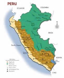 Peru World Map by Peru Map
