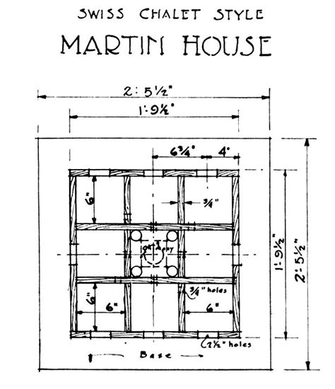 martin house plans free print a free swiss chalet purple martin house design crafts pinterest house