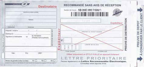 Exemple De Lettre Recommandée Lrar Envoyer Une Lettre Recommand 233 E Avec Ou Sans Accus 233 De R 233 Ception Prix Du Timbre Poste