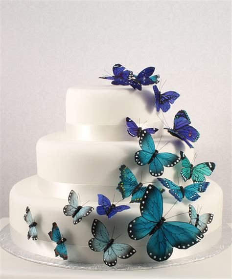 Butterfly Cake Decorations On Wire by Giftstar Pty Ltd Beautiful Butterfly Cake Sets