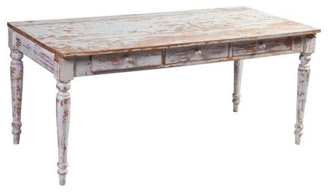 white wood distressed desk 1 600 est retail 499 on