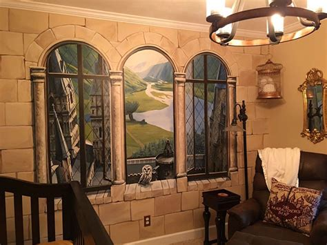 Harry Potter Inspired Nursery In Creates Harry Potter Nursery For His Wizard