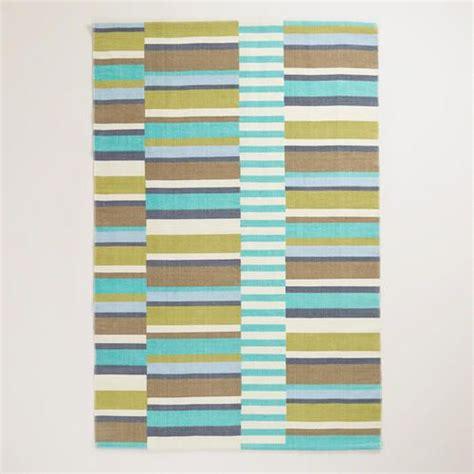 Cost Plus Outdoor Rugs 4 X6 Blue Placed Stripe Indoor Outdoor Rug Via Cost Plus World Market Gt Gt Worldmarket
