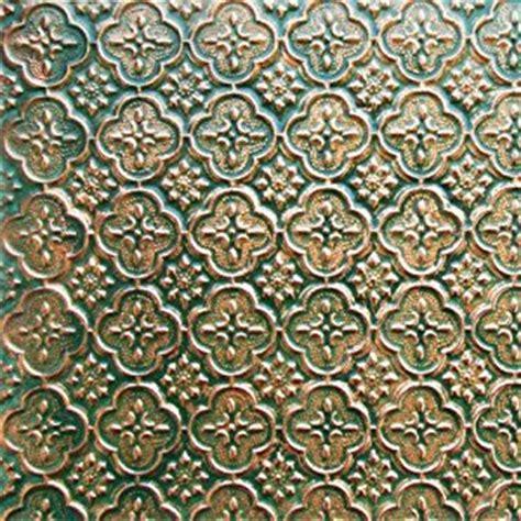 patina copper backsplash faux tin wc 20 patina copper decorative kitchen backsplash