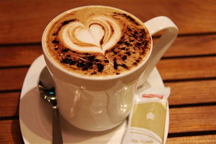 milk design on coffee free photo coffee art love design heart free image