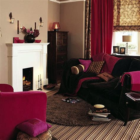 Cosy Living Room Ideas Uk by Living Room Rich In Texture And Colour Housetohome Co Uk