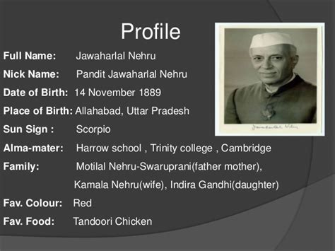 biography nehru english biography of jawaharlal nehru
