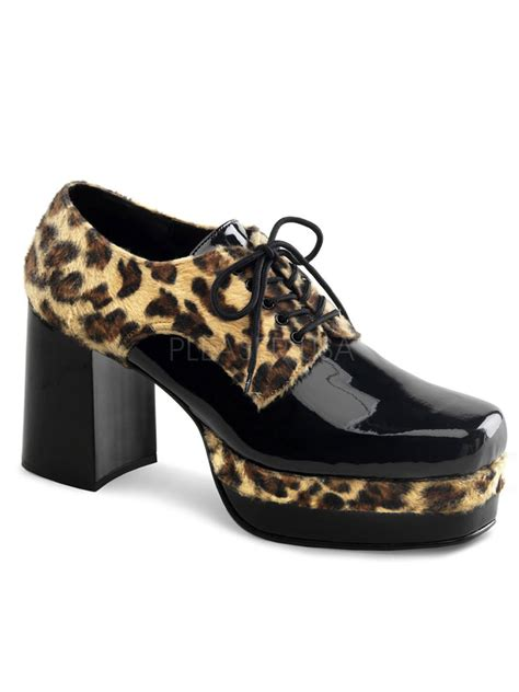 fancy dress shoes for pimp shoes cheetah black glam01cpfrb fancy