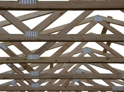 Prefabricated Roof Trusses by Prefabricated Roof Trusses Photograph