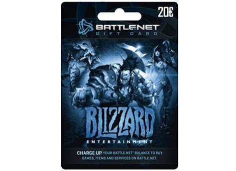 Battle Net Balance Gift Card - blizzard battle net gift card 20 prepaid card public