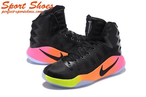 high top nike basketball shoes nike hyperdunk 2016 mens high tops basketball shoes black pink