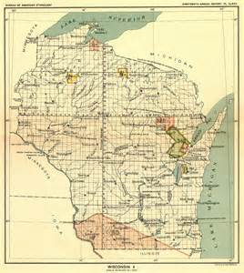 Wisconsin Us Map by Indian Land Cessions In The U S Wisconsin 2 Map 65