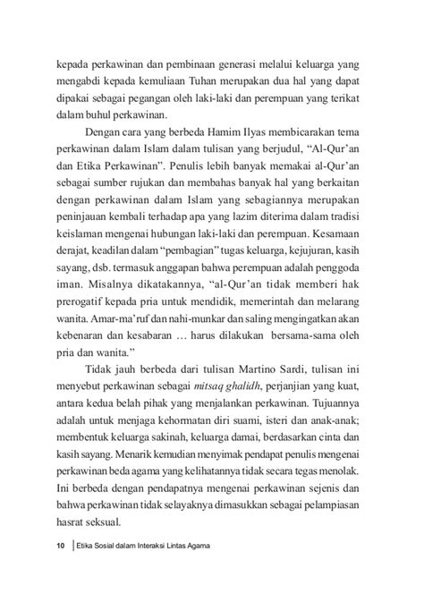 Etika Membangun Masyarakat Islam Modern Edisi 2 etika sosialdalaminteraksilintas agama