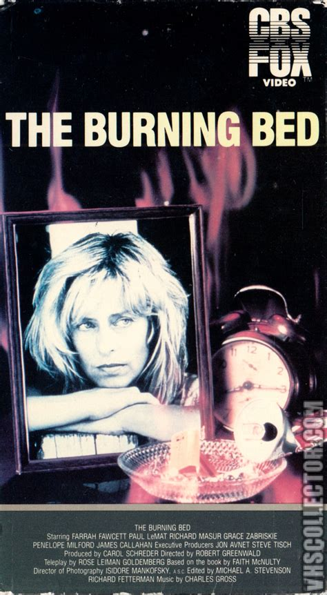 the burning bed vhscollector your analog videotape