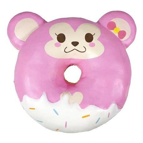 cheeki monkey animal donut squishy kawaii panda making life cuter