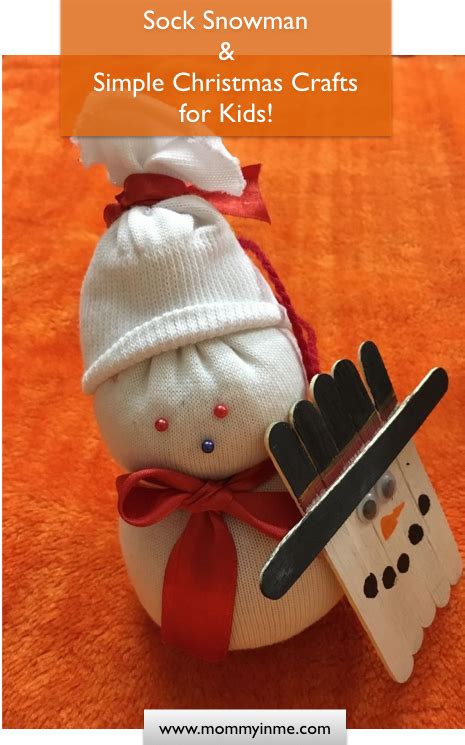 best christmas crafts for kids i snowman crafts