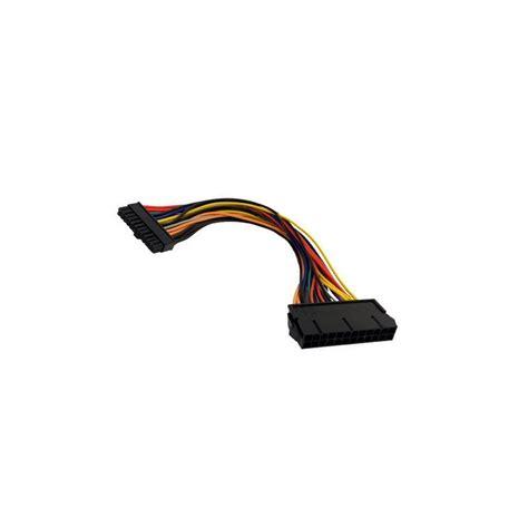 alimentatore atx 24 pin adaptateur atx 24 pins f vers mini atx 24 pins m 10cm