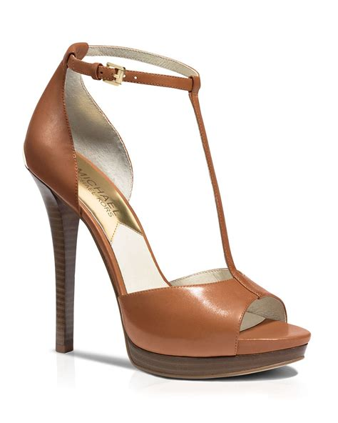 t platform sandals michael michael kors open toe t platform sandals