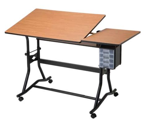 Alvin Co Inc Craftmaster Iii Drafting Art Table Split Top Artist Drafting Tables