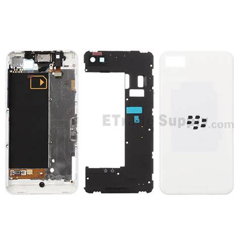 Cassing Blackberry Z10 Kesing Bb White Housing blackberry z10 complete housing 3g version etrade supply