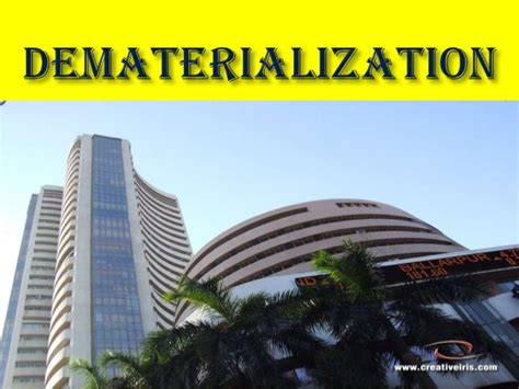 Dematerialisation Of Securities Mba Project by Dematerialisation Ppt