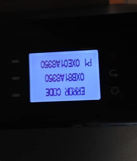 reset hp officejet pro x451dw officejet pro x451dw error code 0xb81a8350 p1 0xe01a8350