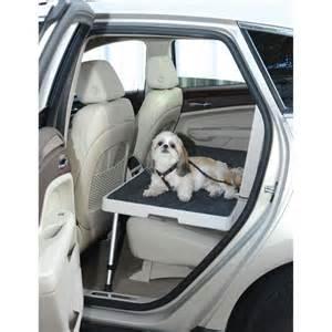 New York Platform Bed - the backseat safety dog deck hammacher schlemmer