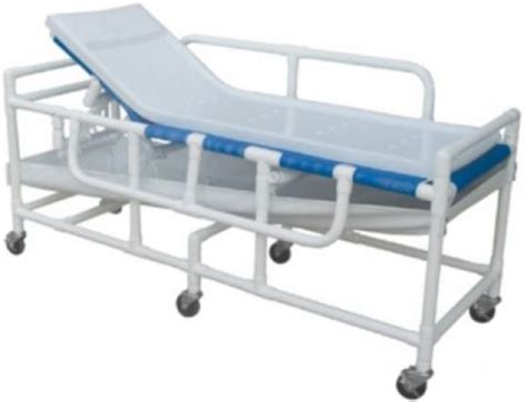 gurney bed lumex pvc shower bed stretcher