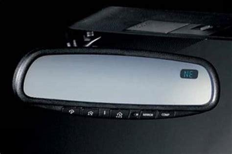 nissan leaf garage door opener nissan oem rear view mirror w compass homelink