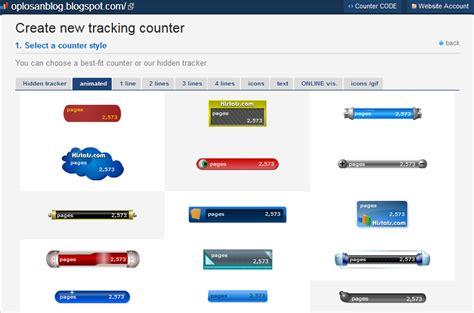 kolom blog gratis download software tips n trik cara mendaftar dan memasang widget histats di blog