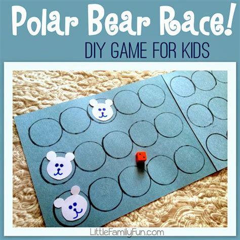 kindergarten activities bears polar bear race fun polar bear activity for preschoolers