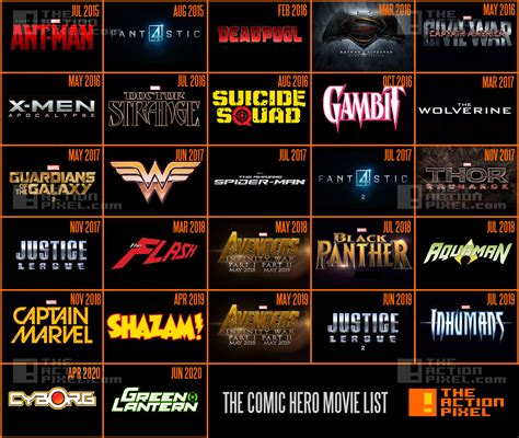 film marvel et dc comics list of all marvel movies bitcoin machine winnipeg