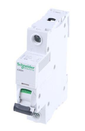 Mcb 1phase 25a Domae Schneider schneider electric acti9 a9f55116 16a single pole d type ic60h mcb c60hd116 tob electrical