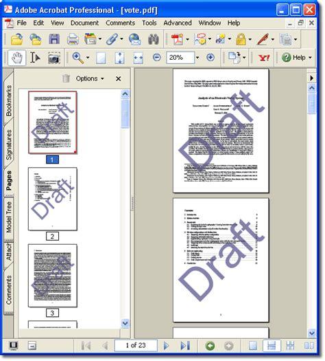 agregar imagenes a un pdf agregar una marca de agua pdf acrobat step 4 pdf a