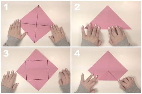 Easy Origami With Rectangular Paper - rectangular origami box