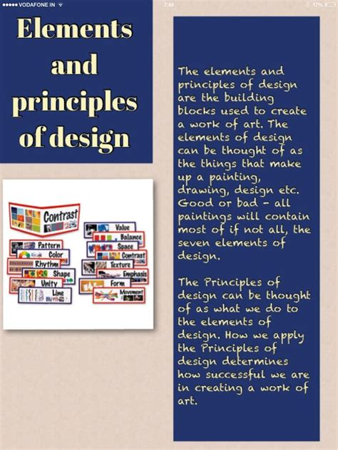 design elements and principles vcaa 7 best elements and principles of design images on