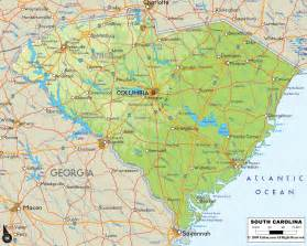 carolina usa map mrs cady south carolina