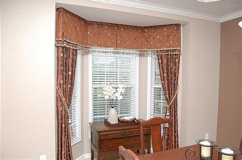 images of bay window curtains how to choose curtains for bay windows
