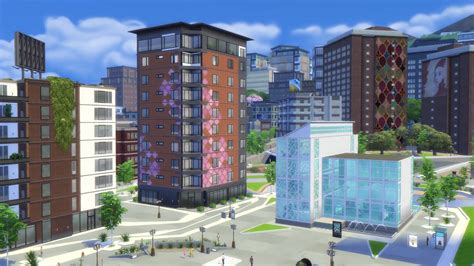 House Plans With Lots Of Windows the sims 4 city living simgurueugi explains apartments