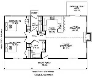Gambrel House Floor Plans 2 bedrm 1200 sq ft cottage house plan 196 1010