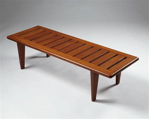 hans wegner bench bench or occasional table designed by hans wegner for