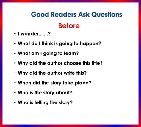 Great Or Question 17 Best Images About Asking Questions On Guided Reading Comprehension And Poster