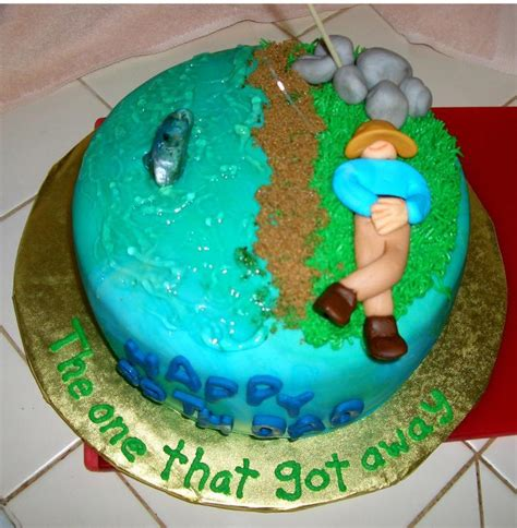 fishing boat cake decorations you have to see gone fishing cake by konanoelle