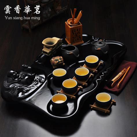 Sale Solid Wood Tea Tray Kungfu Tea sale yixing ceramic kung fu tea set solid wood tea tray teapot tea cup tea play 19 set