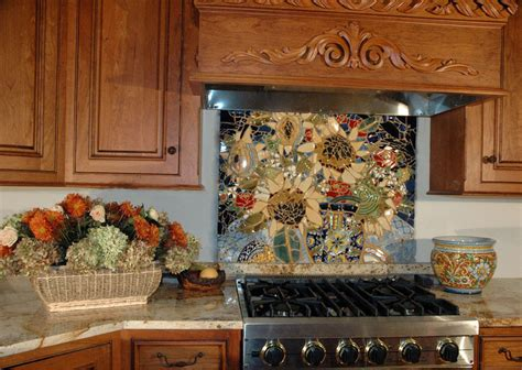 kitchen with mosaic backsplash eye 6 mosaic kitchen backsplashes