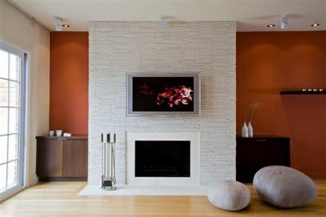 Foyer Tile Design Ideas La D 233 Co Avec Une Chemin 233 E Contemporaine Archzine Fr