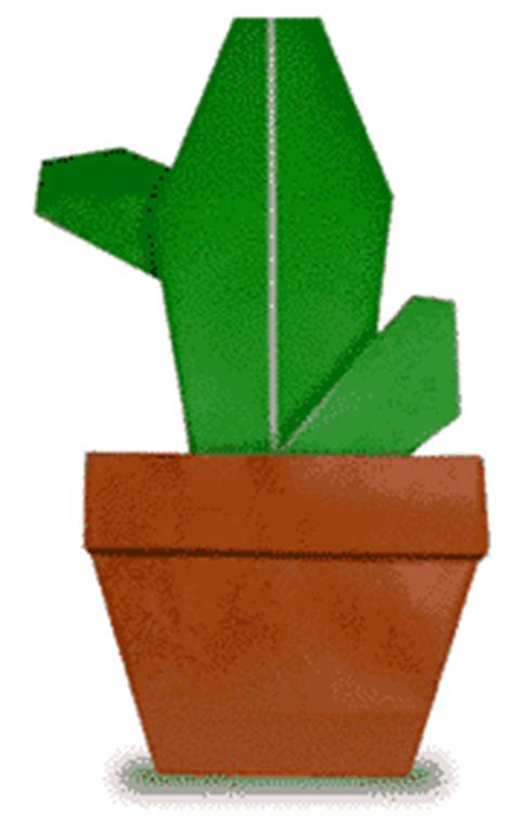 Origami Cactus - extremegami how to make a origami cactus