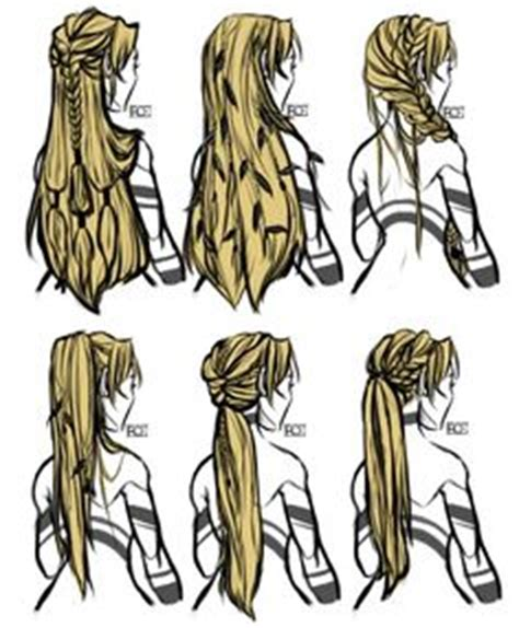 fantasy hairstyles step by step 1000 ideas about anime hairstyles on pinterest how to
