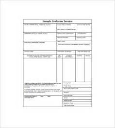 standard invoice template excel doc 735951 standard invoice template free invoice